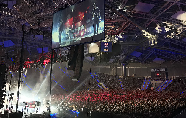 The Cure in Poland, the atmosphere was amazing at this gig