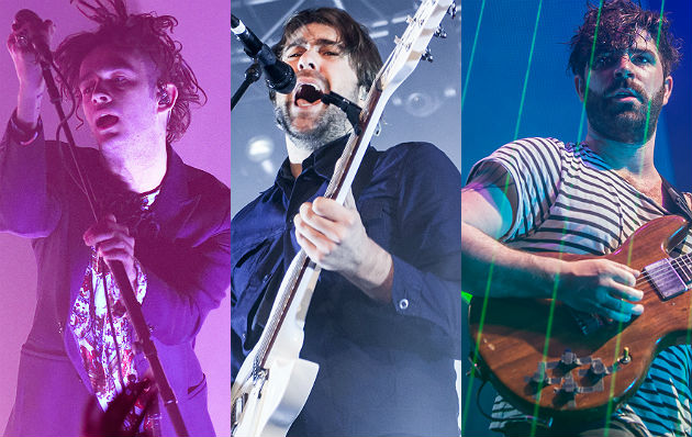 The 1975, The Vaccines and Foals