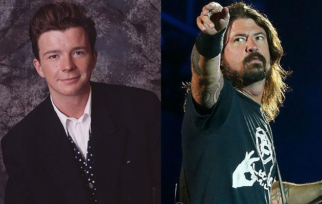 Rick Astley covers Foo Fighters