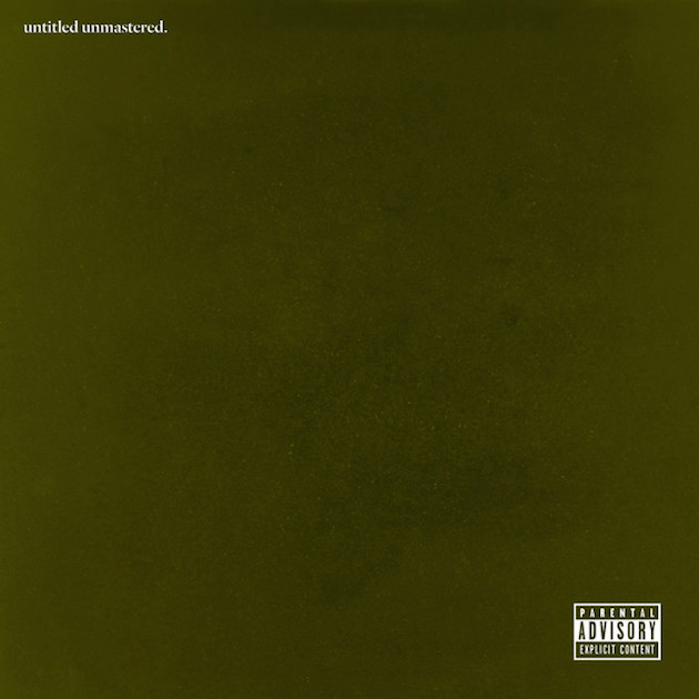 Kendrick Lamar - 'untitled unmastered'