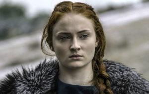 Sophie Turner as Sansa Stark in Game of Thrones season 6