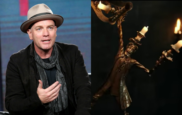 Ewan Mcgregor S Accent Was Deemed Too Mexican To Play The French Candlestick In Beauty And The Beast
