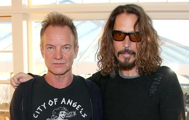 Sting Chris Cornell