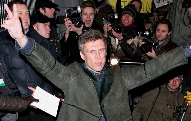 Bez from the Happy Mondays