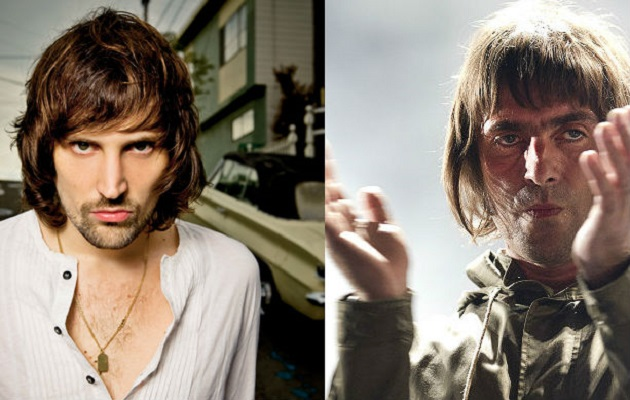 Kasabian's Serge Pizzorno and Liam Gallagher