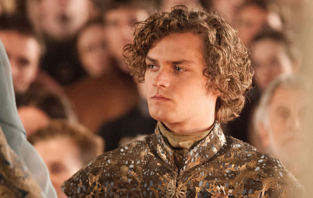 Loras Tyrell in Game of Thrones, the adaptation of A Song of Ice and Fire