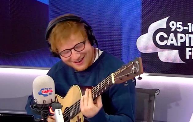 Ed Sheeran Saturday Night Takeaway - Ed Sheeran Thinking