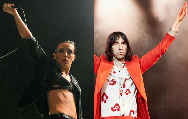 Jehnny Beth and Bobby Gillespie