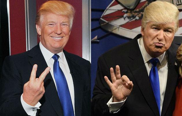 Donald Trump and Alec Baldwin on SNL