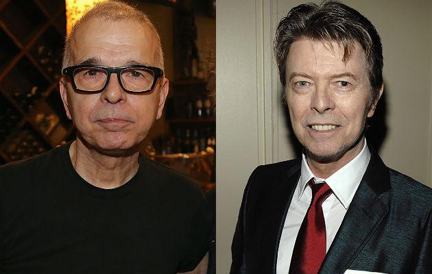 Tony Visconti and David Bowie
