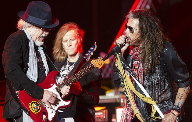 Aersomith's Brad Whitford and Steve Tyler