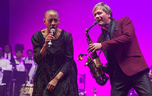 Gail Ann Dorsey at 'Celebrating Bowie'