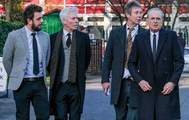 Status Quo attend Rick Parfitt's funeral