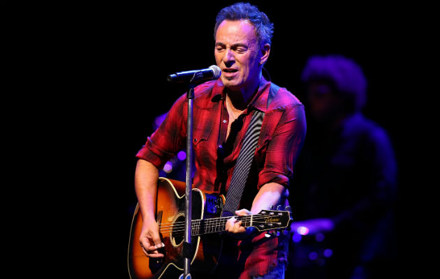 Bruce Springsteen performing in Adelaide, Australia