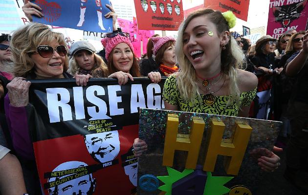 music entertainment stars womens march