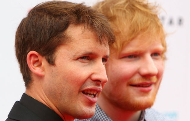 Ed Sheeran will reportedly support James Blunt on tour