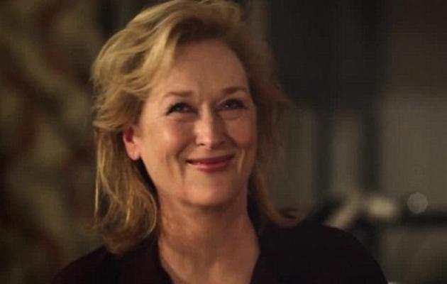 Meryl Streep in Paul McCartney's Queenie Eye video