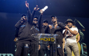 Section Boyz win at last year's MOBO Awards