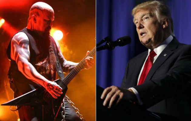 Slayer respond to Donald Trump controversy