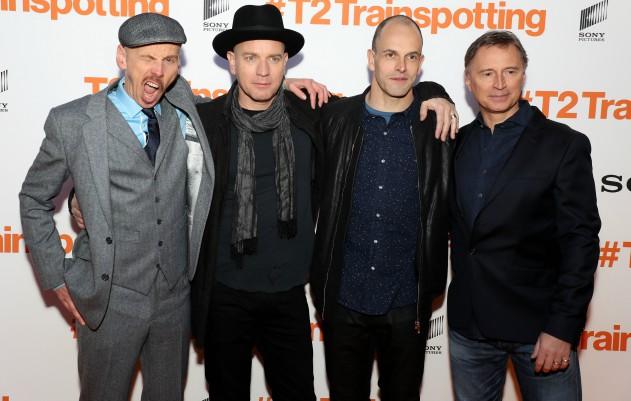 'Trainspotting' cast hit the orange carpet at the 'T2' premiere