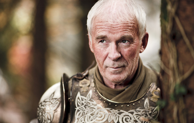 Barristan Selmy in Game of Thrones, the TV adaptation of A Song of Ice and Fire