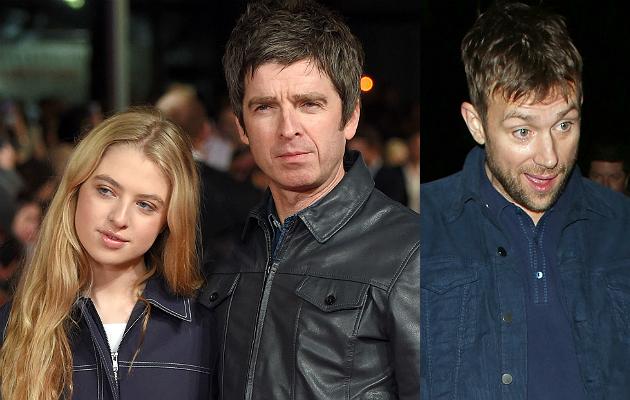 Anais and Noel Gallagher, Damon Albarn