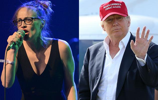 Fiona Apple and Donald Trump
