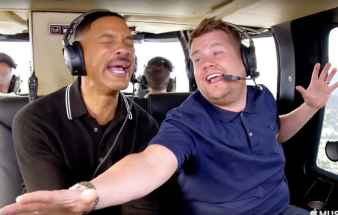 Will Smith James Corden Carpool Karaoke trailer