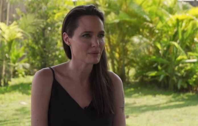 Angelina Jolie speaks about her 'difficult year'