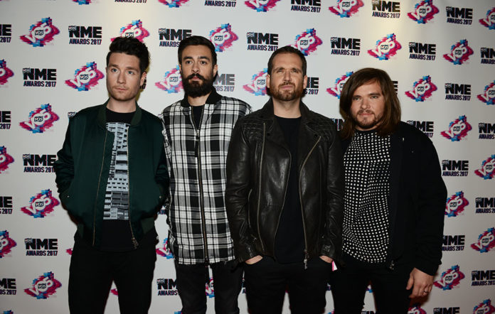 Bastille NME Awards 2017 Red Carpet