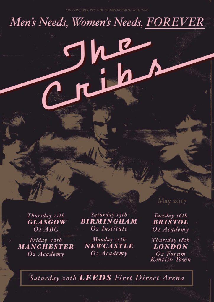 The Cribs UK tour
