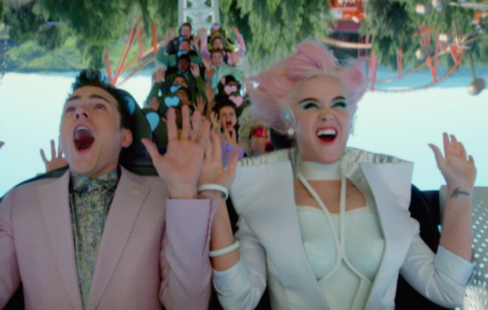 Katy Perry drops 'Chained To The Rhythm' video