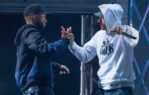 Lyrics in Eminem and Big Sean's latest collaboration have come under fire