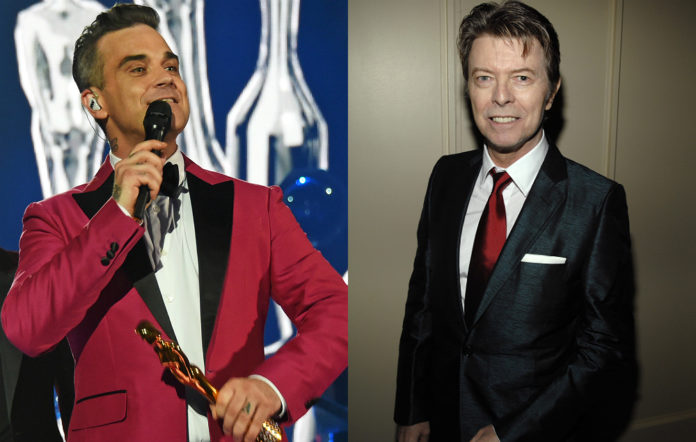 Robbie Williams and David Bowie