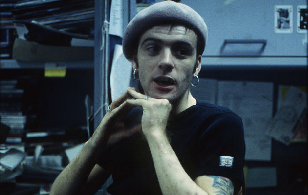 Richey Edwards in the NME offices, 1992