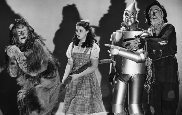 The cast of 'The Wizard of Oz'