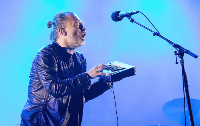 Radiohead at ACL Music Festival 2016
