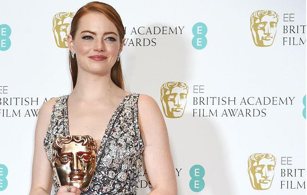 Emma Stone wins at the BAFTAs