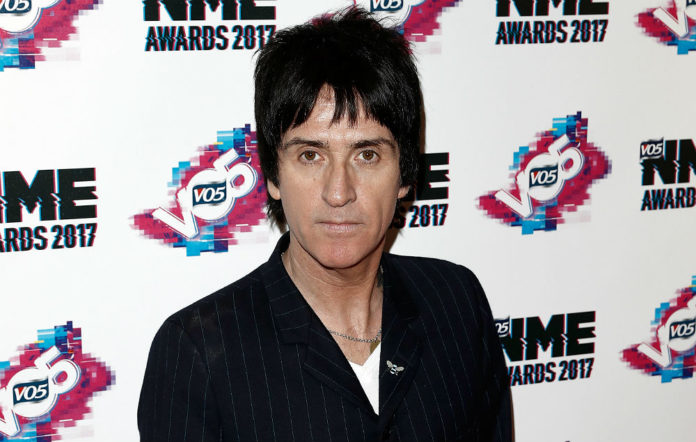 Johnny Marr at the VO5 NME Awards 2017
