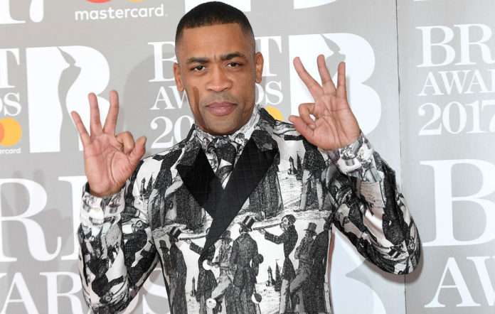 Wiley at the BRIT Awards 2017