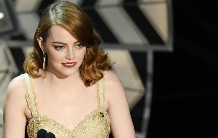 Emma Stone at the Oscars 2017
