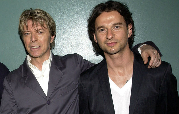 David Bowie and Dave Gahan
