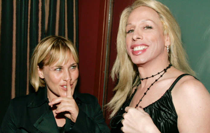 Patricia Arquette and the late Alexis Arquette