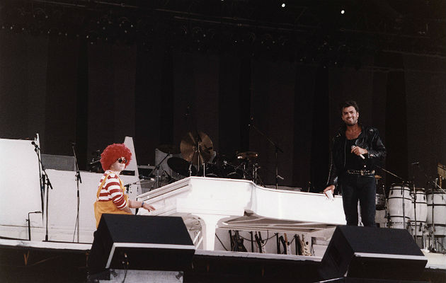 Sir Elton and George Michael