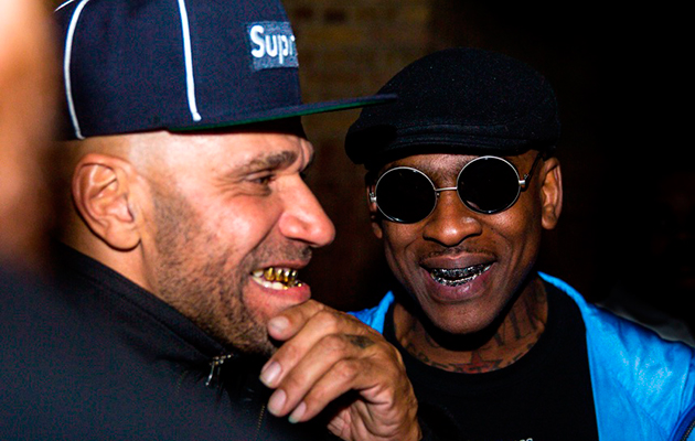 Skepta and Goldie - Brits afterparty 2017