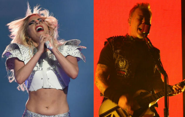 Lady Gaga and Metallica to duet at Grammys