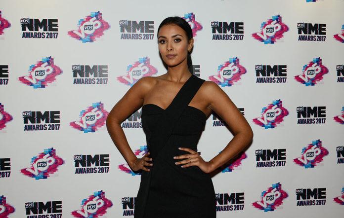 Maya Jama NME Awards 2017 Red Carpet