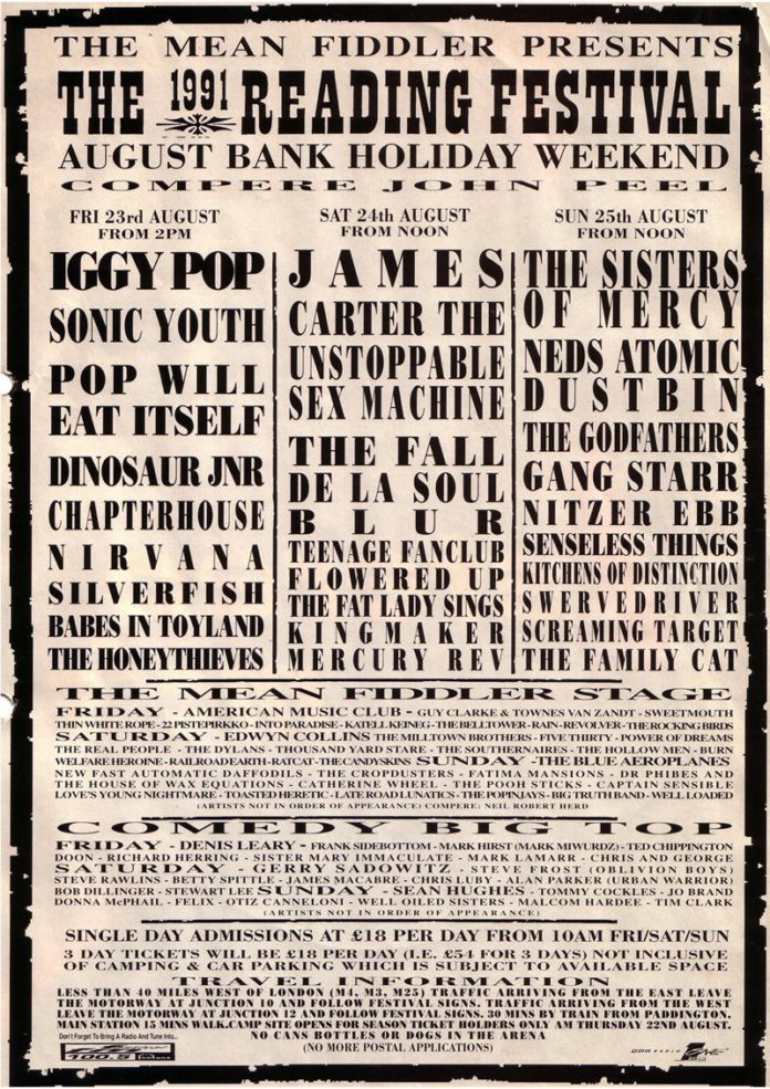 Every Reading & Leeds poster since 1989 | NME