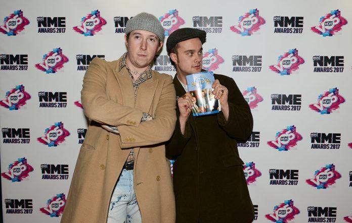 Slaves NME Awards 2017 Red Carpet