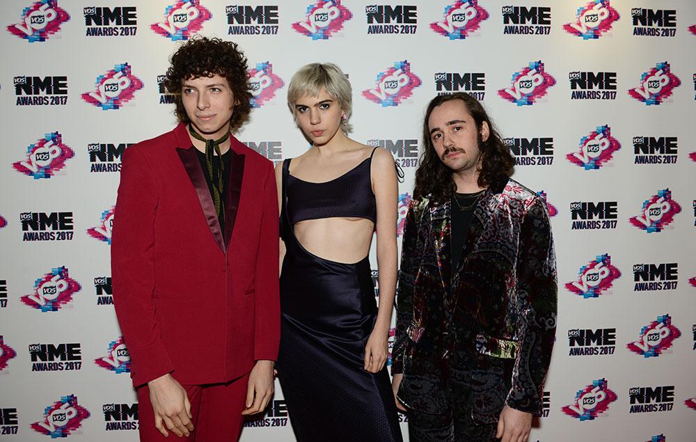Sunflower Bean NME Awards 2017 Red Carpet